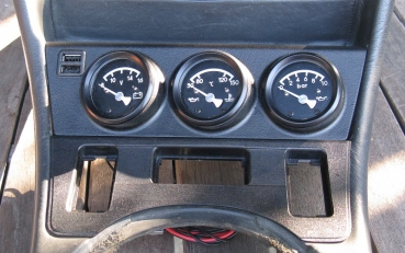 Project - Panel for add. gauges