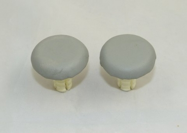 Plug for covering the holders of a hardtop