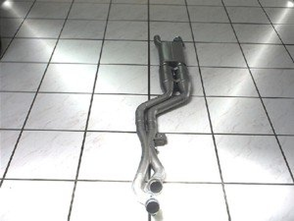 Metal sports catalytic converter